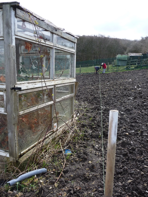 how to set up an allotment