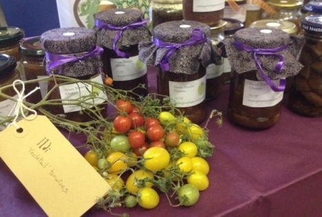 Growing Newsome jam stall