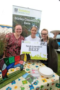 Stirley farm staff and volunteers