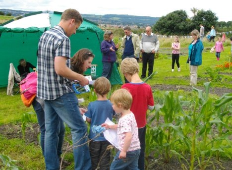 Families at Stirley Farm
