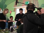 BBC Countryfile at Stirley Farm, with Matt Baker